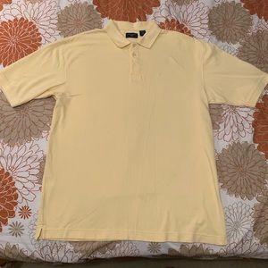 Dockers Men's Matte Yellow Short Sleeve Polo XL